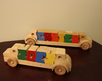 Personalized Toy Truck