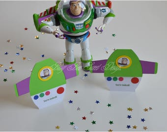 Buzz Light Year Invitations / Toy Story inspired Buzz Light Year Invitations / Toy Story Birthday Party