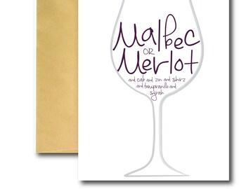 Wine Love Card