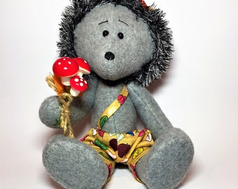 Soft hedgehog,Plush hedgehog of lavender,Herbal toy,handmade