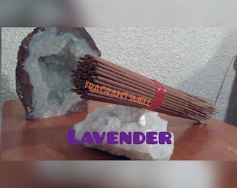 "Incense Sticks,Lavender,Hand made Dipped,Home Fragrance,100ct incense, ""Free shipping"""