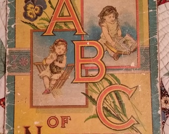 The ABC of Nature by McLoughlin Bros. 1884