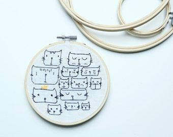 CATS - Frame handmade