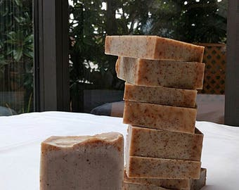 Cinnamon and Nutmeg Cold Process Soap