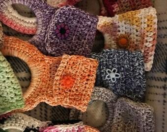 Crochetd Towel Holders