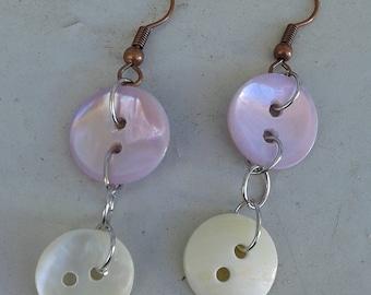 Earrings buttons