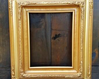 Traditional compo ornate wood frame, gold frame, wood picture frame, wedding frame, portrait frame, custom picture frame, custom frame,