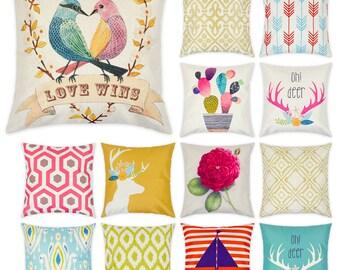 Large Throw Cushion Cover, Pillow Cover, Wholesale Bundle, Imprintable, 100 pcs+
