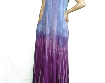 Tie Dye Maxi Dress (Made in USA)