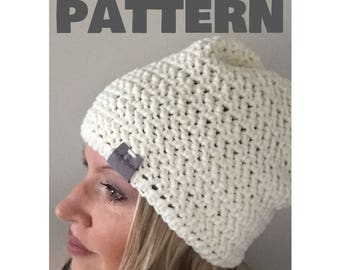 PATTERN | The Zacker Crochet Beanie