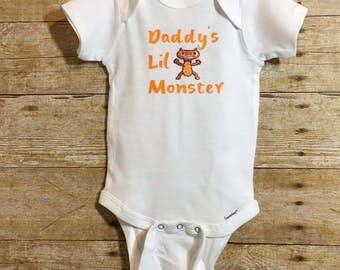 Daddy;s lil Monster