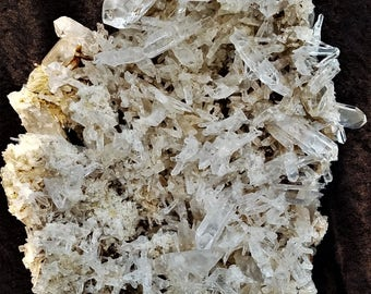 Arkansas Solution Quartz Cluster