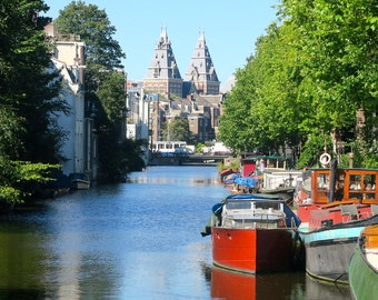 The Canals of Amsterdam Print
