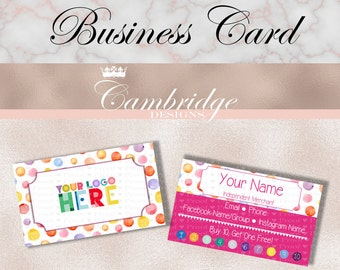Dot Dot Smile Business Cards, Digital, Personalized