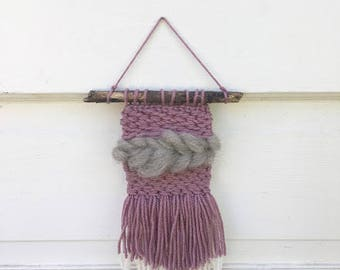 Wall Tapestry // Woven Wall Hanging