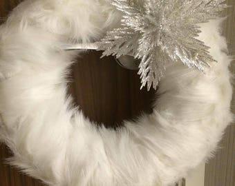 Winter Aisle Decor