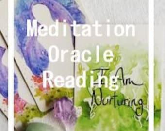 Meditation Oracle Reading
