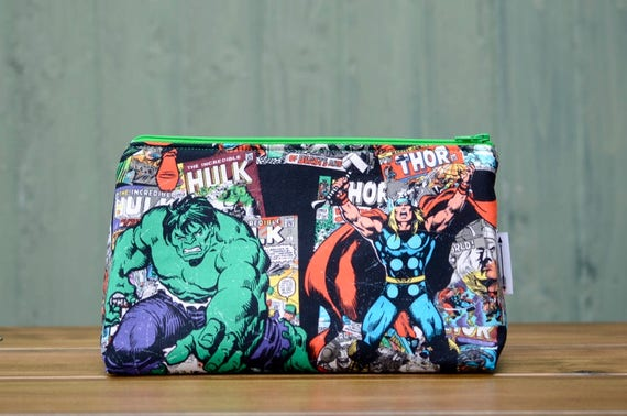 Hulk and Thor large bag