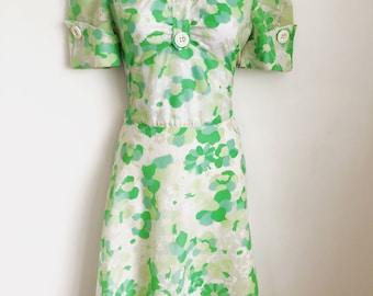 VINTAGE 1960's Dress Size UK8