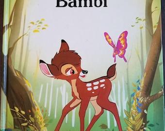 VTG Bambi - Walt Disney Classic Series Hardcover 1986
