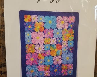 Pansy Lap Quilt pattern