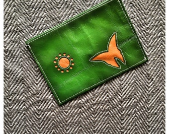 Green Purse - Handmade