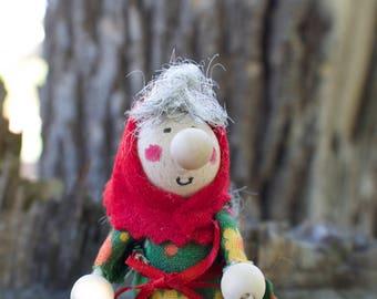 Kitchen Witch / Strega Due - Kitchen Witch doll