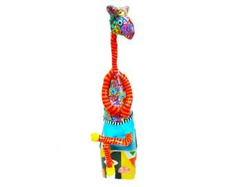 Giraffe shelf sitter, Giraffe sculpture, Giraffe Art, Giraffe lovers gifts, Giraffe shelf sitter sculpture, Modren Giraffe, giraffe gifts
