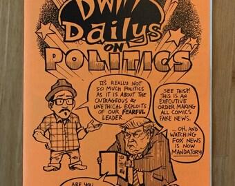 DWITT Dailys on Politics comic book
