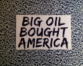 10 postcards big oil bought america political postcard