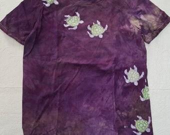 med Unisex Sea Turtle Tortoise Batik medium