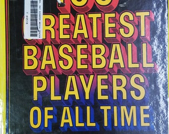 The 100 Greatest Baseball Players of All Time: Babe Ruth, Lou Brock, Paul Wagner, Ty Cobb, Etc. Hardcover – 1981