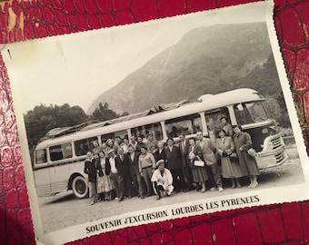 Souvenir d'Excursion - Lourdes Les Pyrenees - 1950s Photo