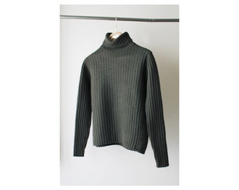 1990's Banana Republic Ribbed Turtle Neck Sweater