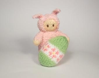 Easter Bunny Bitsy Baby Knitting Patten