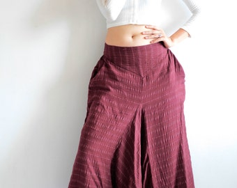 Wabi-Sabi pants.../capris pant /funky pants /hippie pants  /harem pants /Linen/cotton And all colour