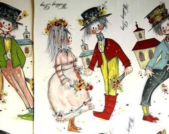 Decals for Ceramic, Wedding, Vintage, Retro, Cute - BULK LOT