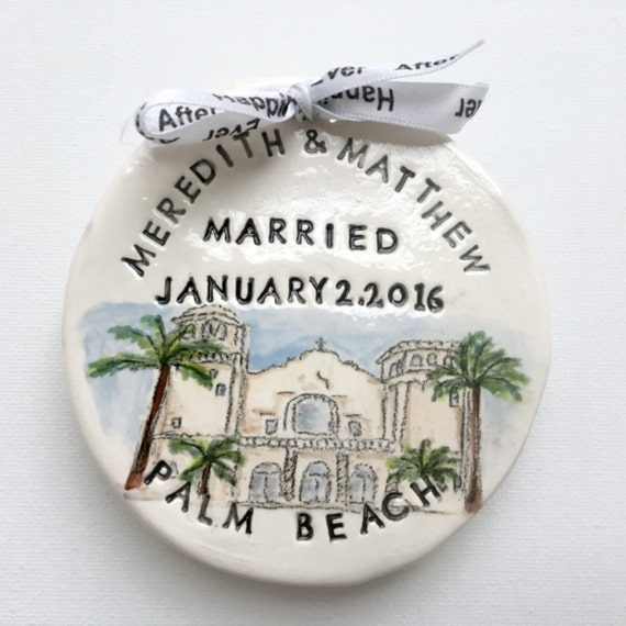 Handmade Wedding Gifts For Couple : Custom wedding gift for couple unique personalized gifts ornament from ...