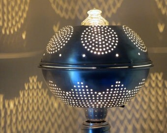 dot.bot tabletop colander shadow lantern