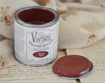 Chalk Paint Rusty Red