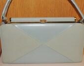 Reserved 1960s Light Blue Spring Handbag Never Worn