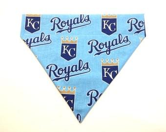 Pet Accessory - Kansas City Royals - Over-the-Collar - Custom - Bandana, Bow Tie, Neck Tie, Flower