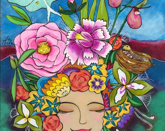 Greeting Card : Abundance Goddess
