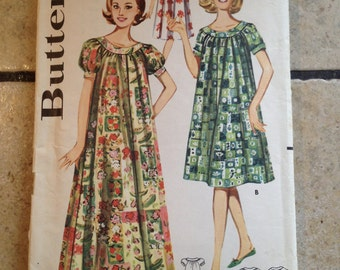 Butterick 9946 Size 12 Misses' Muu Muu Dress Pattern