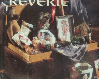Holiday Reverie Cross Stitch Pattern book  by Leisure Arts Book 15 In Christmas Remembered Series, Holiday Samplers, Borders, Bookmarks Plus