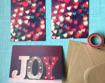 Fine Art Photo Christmas Cards - Set of 3