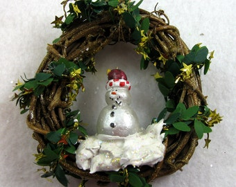 Snowman Christmas Ornament - Let It Snow 407