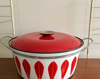 Cathrineholm Dutch Oven Red Lotus Catherineholm Greta Prytz Kittelsen Large