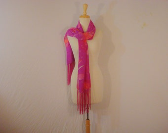 Wrap Shawl Scarf Accessory Floral Fringed Bohemian Chic Versatile Scarf Extra Large