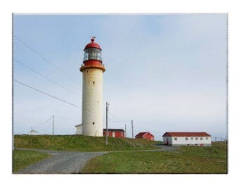 Historic Light House communicated to sinking Titanic Cape Race, NL